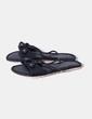 Sandalia negra tiras trenzadas  Koima