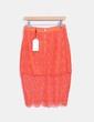 Falda naranja de crochet Lavish Alice