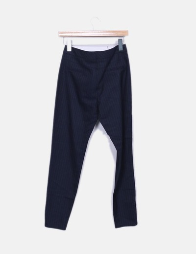 Pantalon raya diplomatica con cremallera