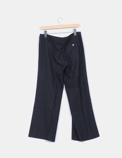 Pantalon de traje negro