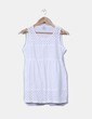 Camisa blanca troquelada Cortefiel
