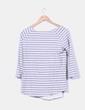 Doble camiseta de rayas Maison Scotch