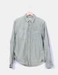 Camisa denim verde H&M