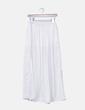 Maxi falda blanco perla Zara