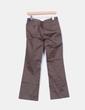 Pantalones chinos khaki recto Zara