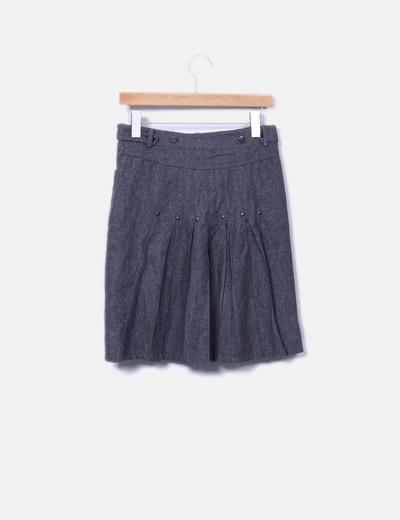 Minifalda de pano