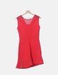 Vestido rojo detalle red Maje