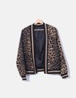 Blazer imprimé animal b. young