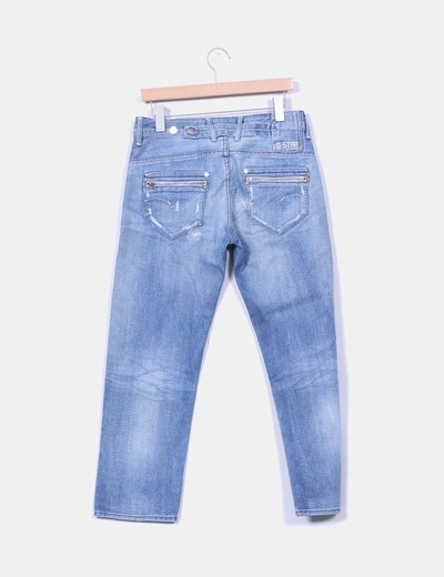 Pantalon denim claro