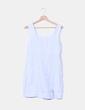 Vestido azul cielo de lino NoName