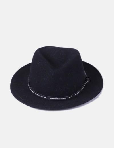 Bolso negro de paño NoName