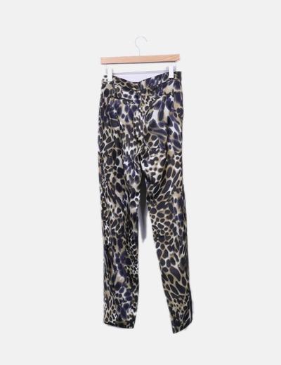 nueva productos cf36b e7c1c Pantalón leopardo