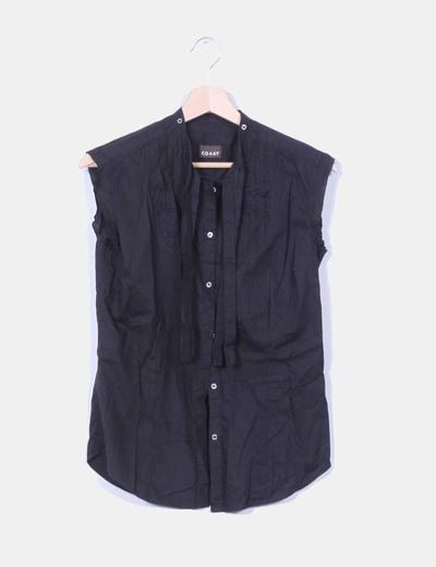Camisa negra Coast