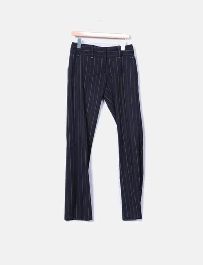 Pantalón negro raya diplomática Vero Moda