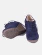 Zapato antelina azul NoName
