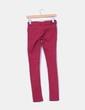 Jeans denim frambuesa pitillo Bershka