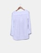 Blusa blanca print arboles H&M