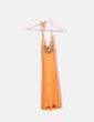 Robe orange cloutée Killah
