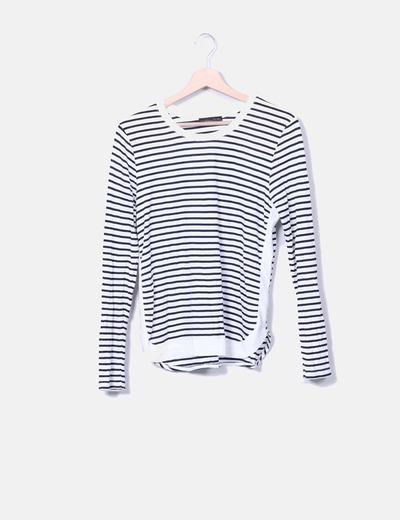 T-shirt rayé Zara