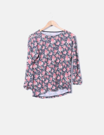 Sweat-shirt floral Springfield