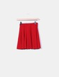 Jupe midi rouge Zara