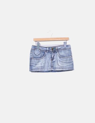 4ec84fb2282bd Sicko19 Minijupe worn en jeans (réduction 78%) - Micolet