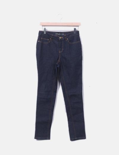 Pantalón denim azul oscuro
