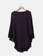 Jersey tricot jaspeado efecto poncho Elena Miró