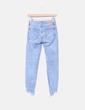 Clear jeans cropped Bershka