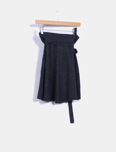 Falda tricot