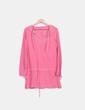 Vestido rosa efecto desgastado Pepe Jeans