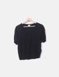 Camiseta negra jaspeada Bimba&Lola