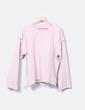 Sudadera oversize rosa palo Maison Margiela
