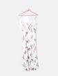 Mono asimétrico beige floral Pull&Bear