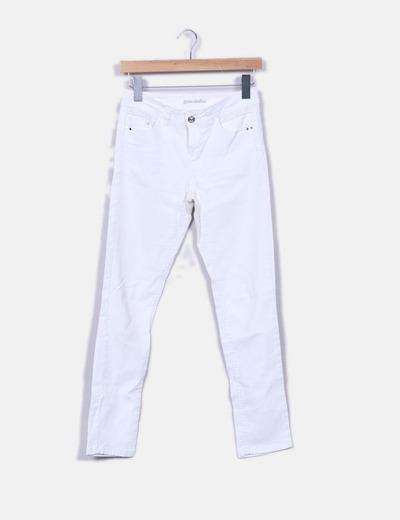 Jeans blancs slim fit Grain de Malice