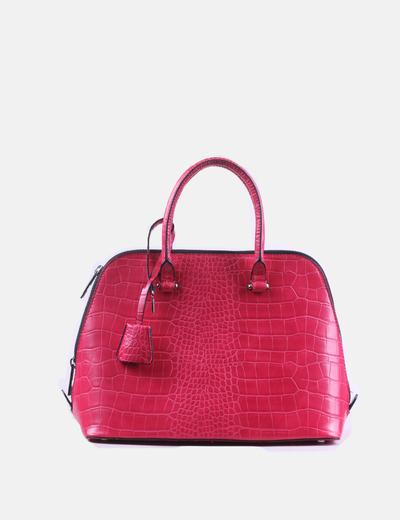 Bolso texturizado rosa