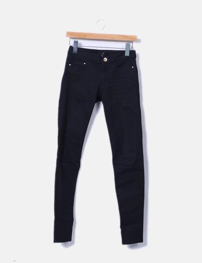 Pantalón negro pitillo H&M