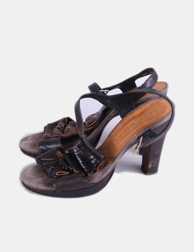 Chaussures marrons à talons Chie Mihara