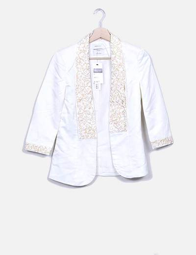 Blazer bordado Suiteblanco