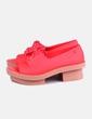 Zapatos blucher coral peet toes Melissa