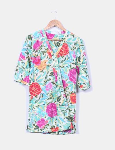 Camisa floral H&M