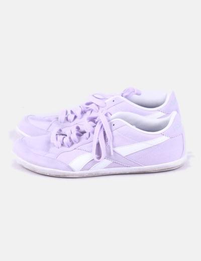 Zapatilla deportiva lila