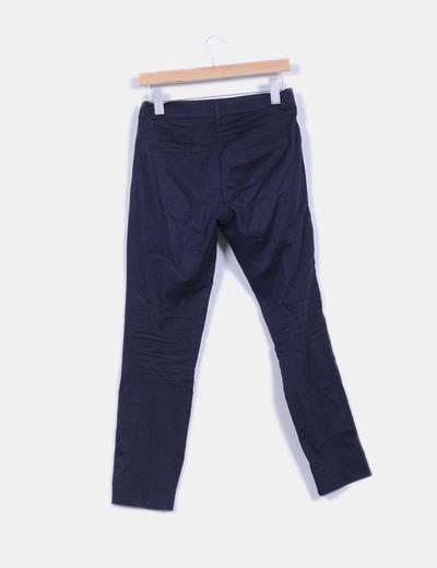Pantalon azul chino