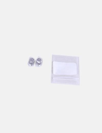 2 Piercings de rayas ( Fake piercings)