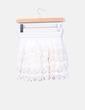 Mini falda cruda de encaje NoName