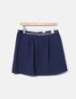 Mini-jupe bleu marine VILA