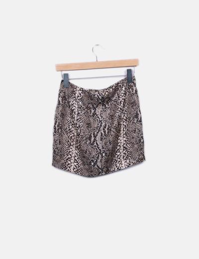 984fa5fd3 Mini falda serpiente