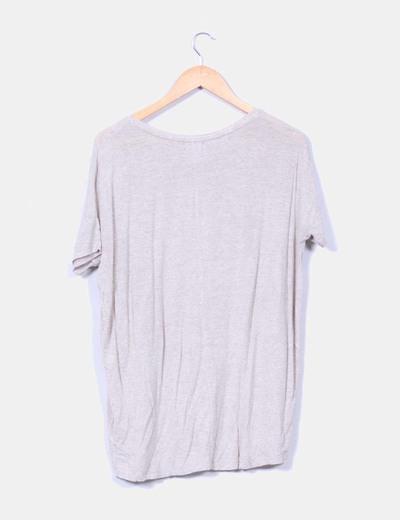 Camiseta camel print
