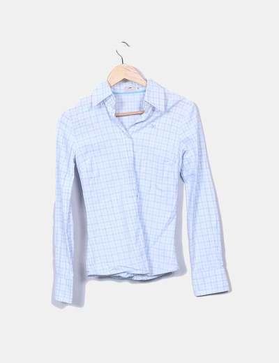 Thomas Burberry Blaues und weißes Mini-Karohemd (Rabatt 80 %) - Micolet 62285ab159