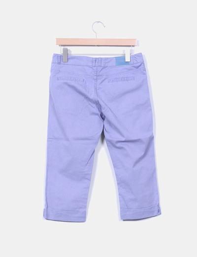 Pantalon pirata azul